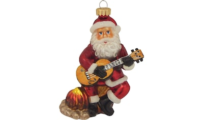 """Krebs Glas Lauscha Christbaumschmuck """"Gitarre spielender Weihnachtsmann"""" (1 - teilig) kaufen"""