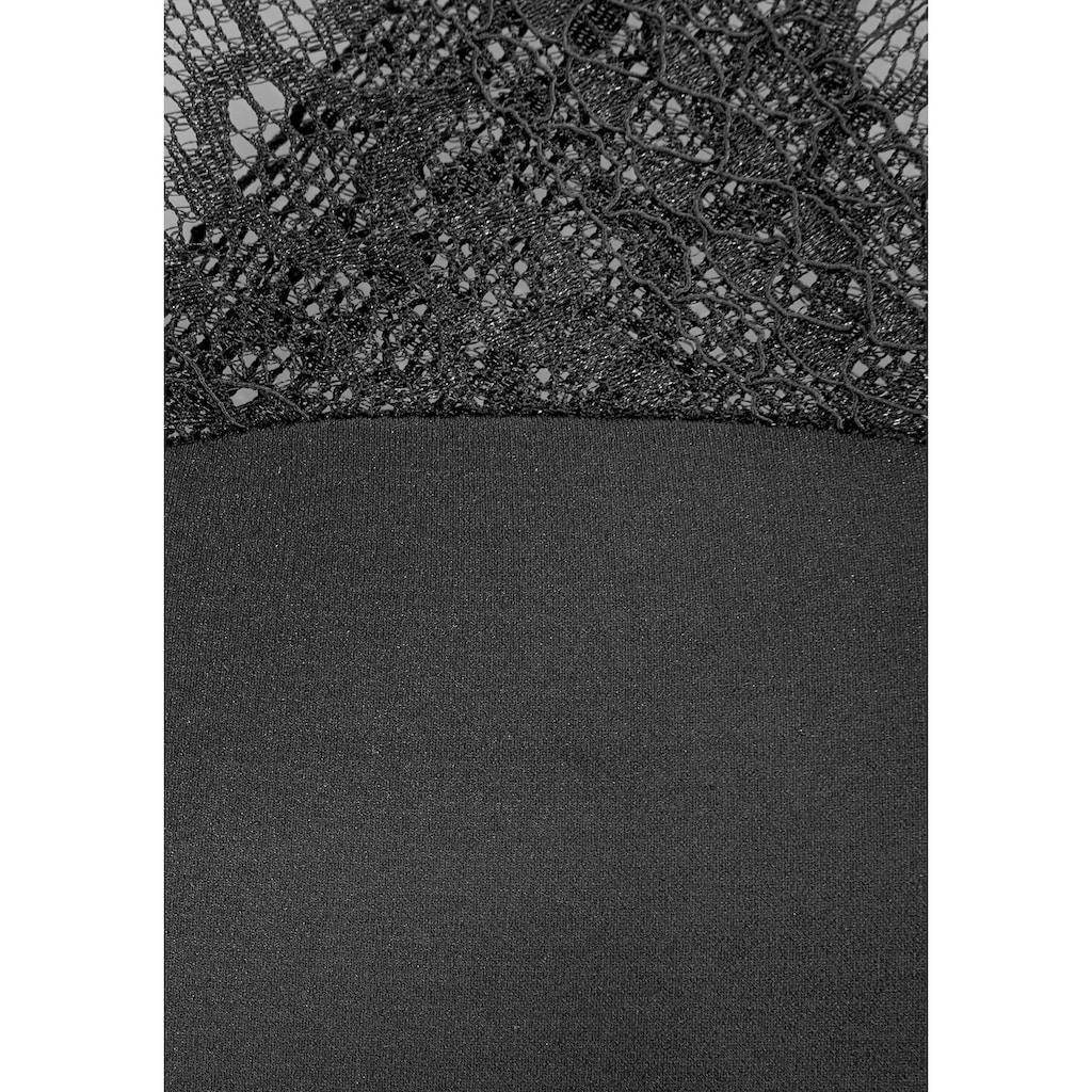 Susa Shaping-Kleid, mit dekorativer Spitze