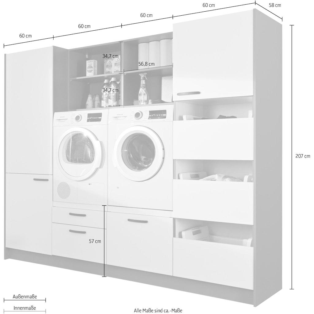Express Küchen Schrank-Set »Arta«, (9 St.), ohne Geräte, vormontiert, mit Soft-Close-Funktion, Stellbreite 245cm