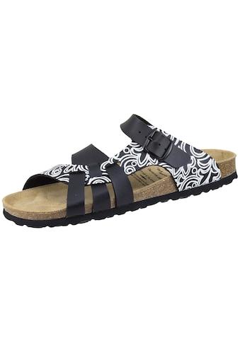 Sandale »560011«, Bioline Lady Pantolette schw/weiß kaufen