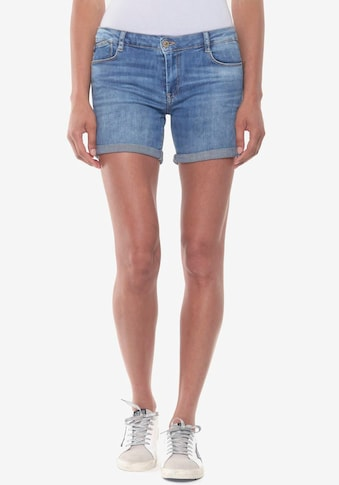 Le Temps Des Cerises Jeansshorts »JANKA-LTDC«, mit gekrempelten Saumabschluss kaufen