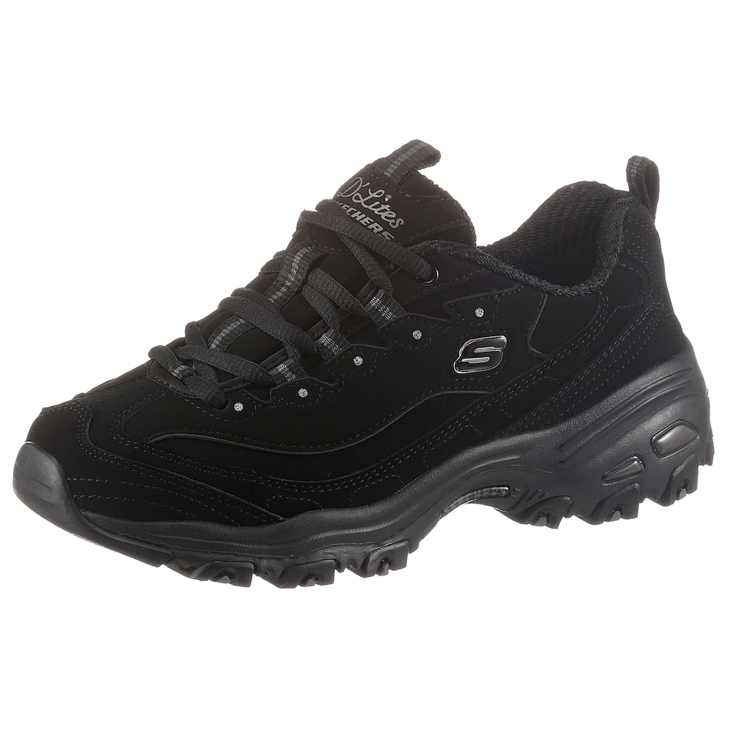 Skechers Sneaker »D'LITES PLAY ON«, mit Air Cooled Memory Foam