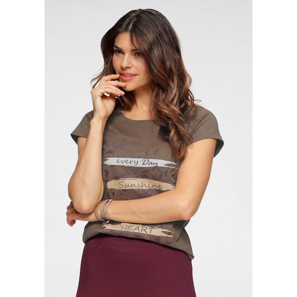 Boysen's T-Shirt, aus reiner Baumwolle