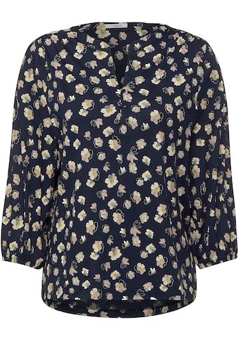 Cecil Rundhalsshirt, mit floralem Muster kaufen