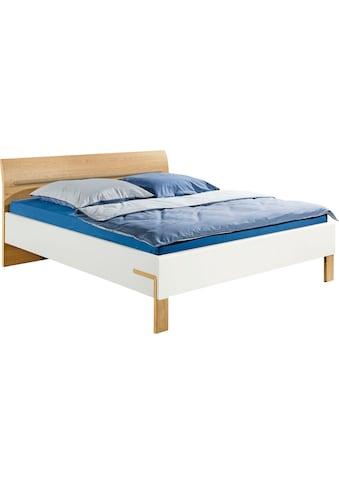 hülsta Bett »DREAM«, Breite 180 cm, mit schön geformten Kopfteil in Natureiche Furnier, inklusive Liefer- und Montageservice durch hülsta Monteure kaufen