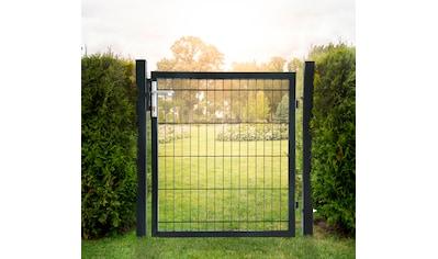 HOME DELUXE Gartentor , für Doppelstabmatten, HxL: 1x1 m kaufen