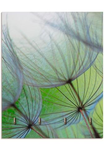 Artland Schlüsselbrett »Pusteblumen-Samen II«, aus Holz mit 4 Schlüsselhaken –... kaufen