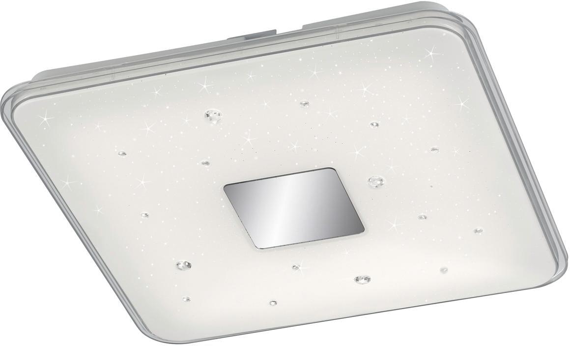 TRIO Leuchten LED Deckenleuchte Raiko, LED-Board, Warmweiß-Neutralweiß-Tageslichtweiß, integrierter Dimmer