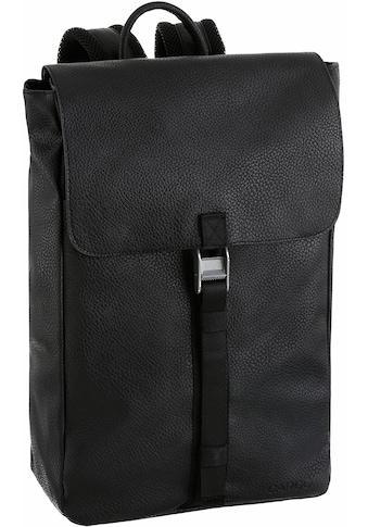 Cargo Laptoprucksack »Cargo 302, schwarz mit Struktur, 13 l« kaufen