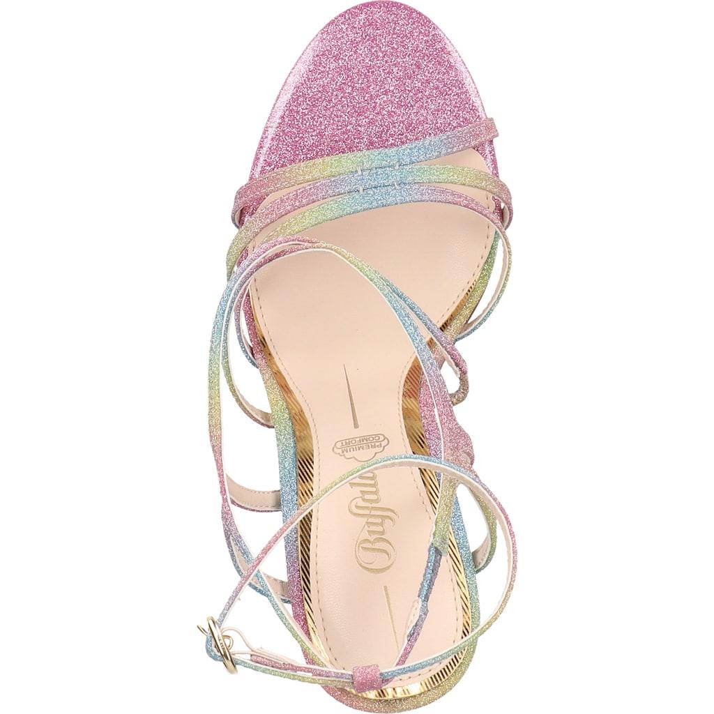 Buffalo High-Heel-Sandalette »Textil«