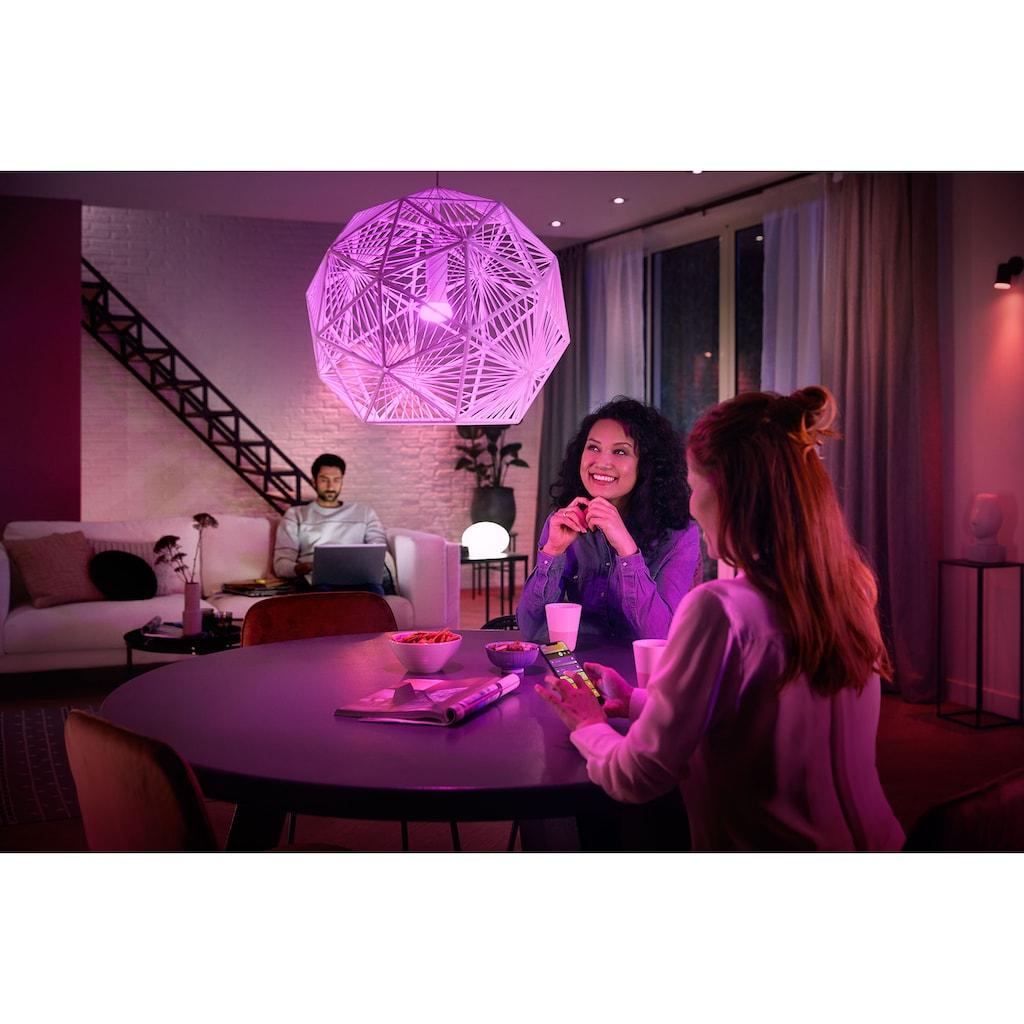 Philips Hue LED Tischleuchte »White & Col. Amb. Flourish weiß 806lm«, E27, Extra-Warmweiß-Neutralweiß-Warmweiß-Tageslichtweiß-Kaltweiß