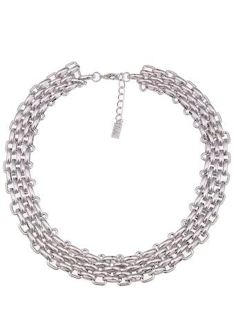 leslii Statement - Halskette mit glänzenden Gliedern kaufen
