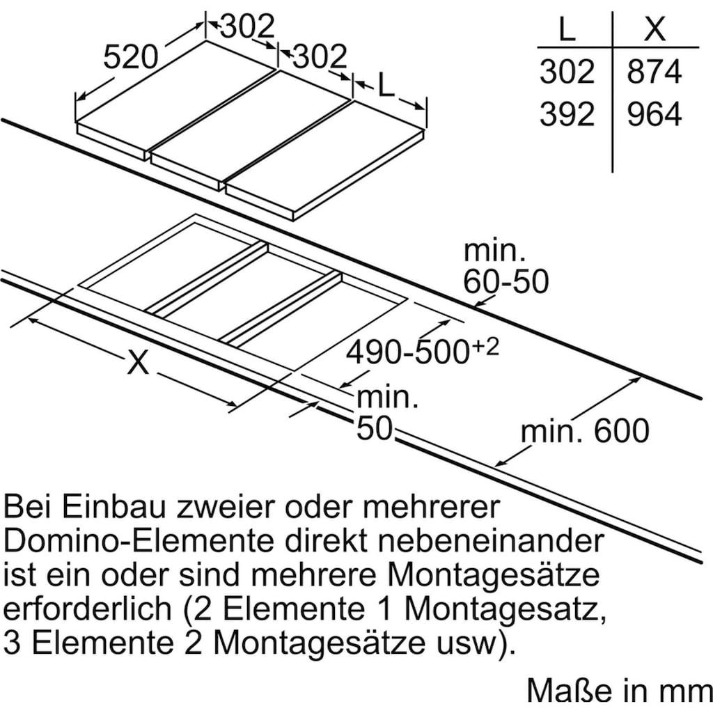 SIEMENS Flex-Induktions-Kochfeld »EX375FXB1E«, EX375FXB1E