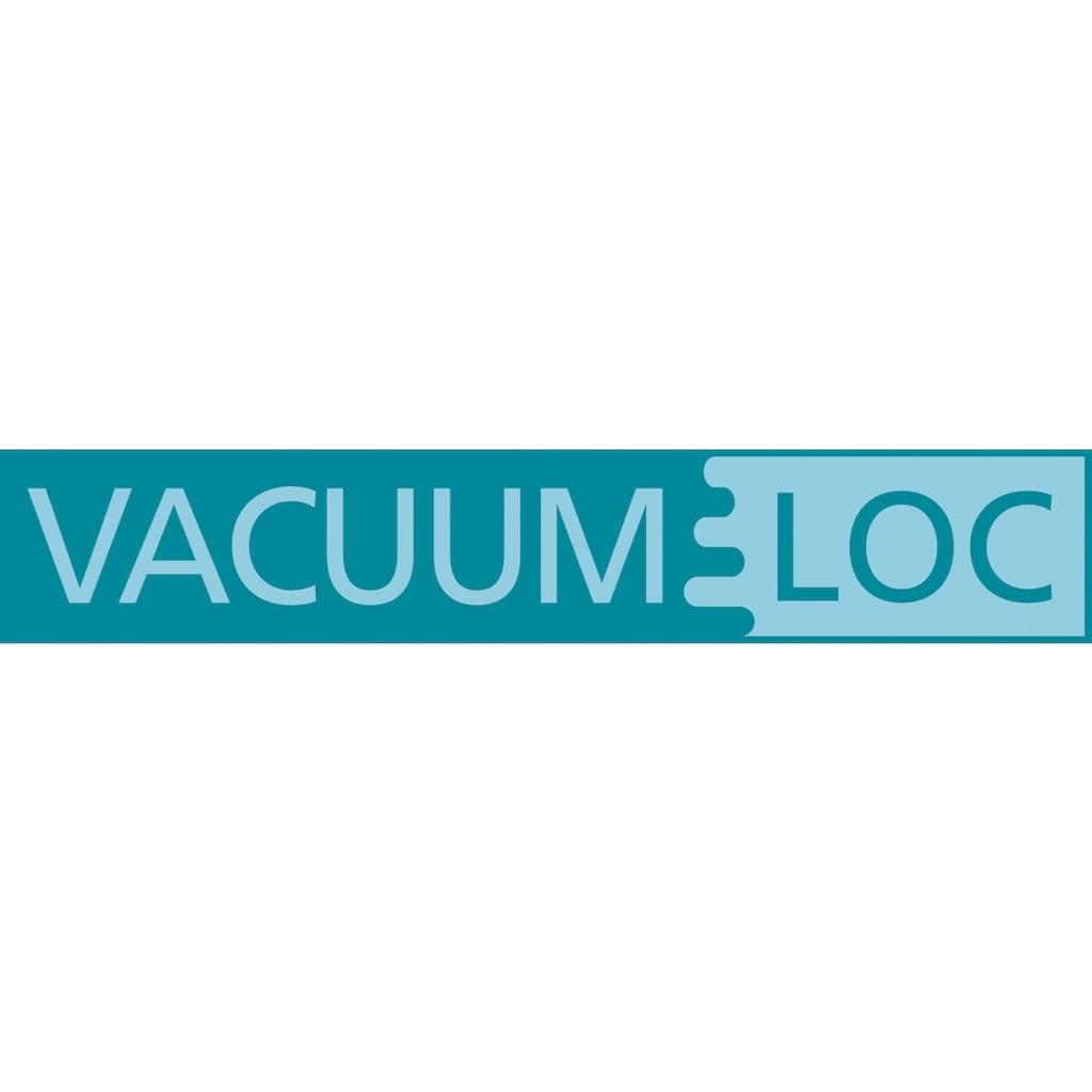 WENKO Duschablage »Vacuum-Loc Quadro«, mit Haken, Befestigen ohne bohren