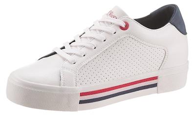 s.Oliver Sneaker, mit Streifen in der Laufsohle kaufen