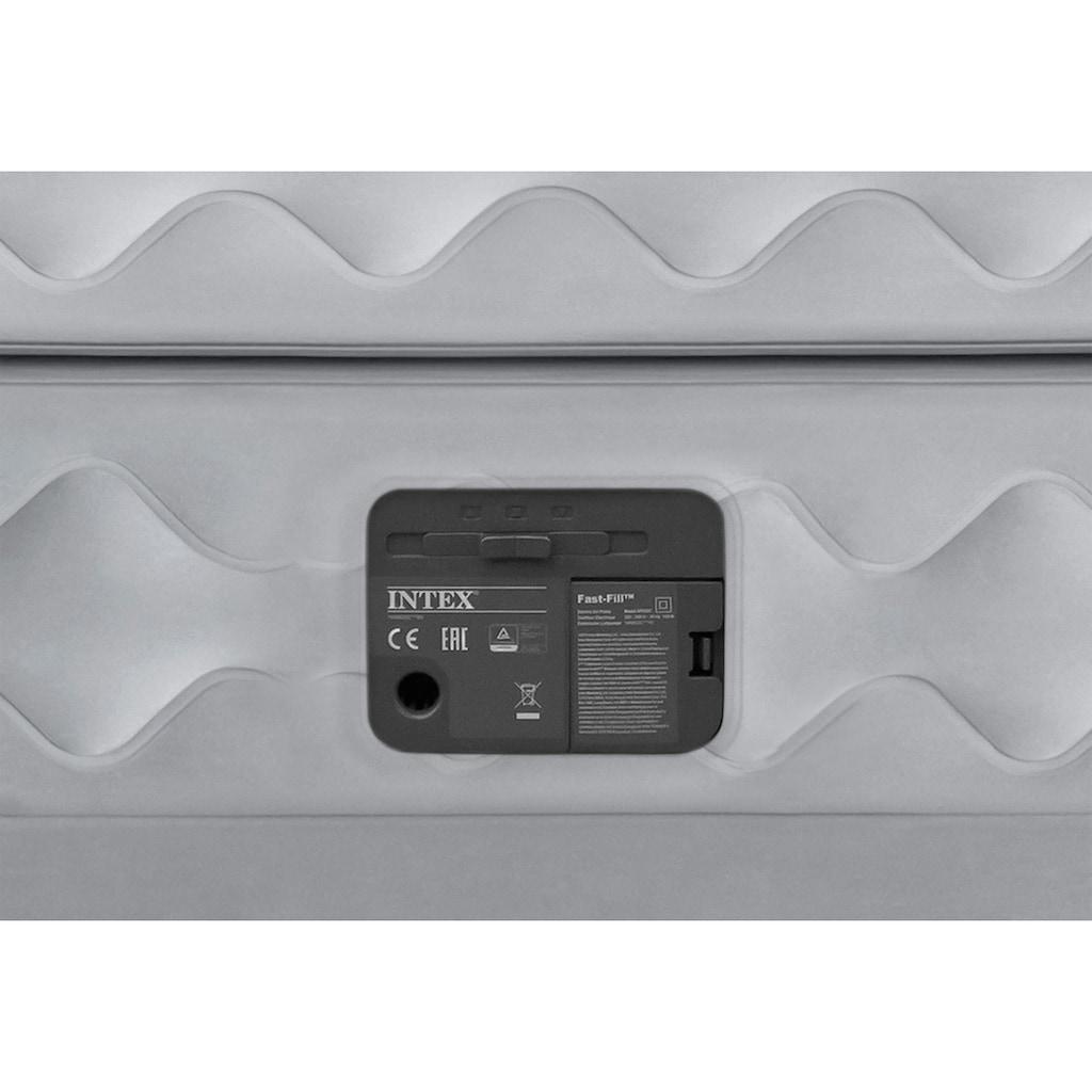 Intex Luftbett »DURA-BEAM® Supreme Air-Flow™Airbed«, (Set, 2, mit Transporttasche)