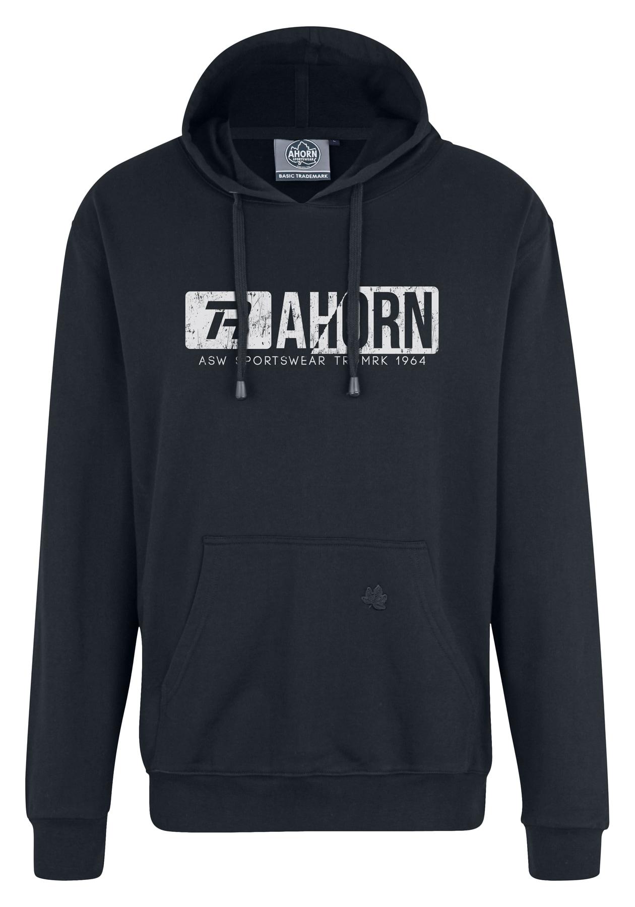 ahorn sportswear -  Kapuzenpullover, mit trendigem Frontprint