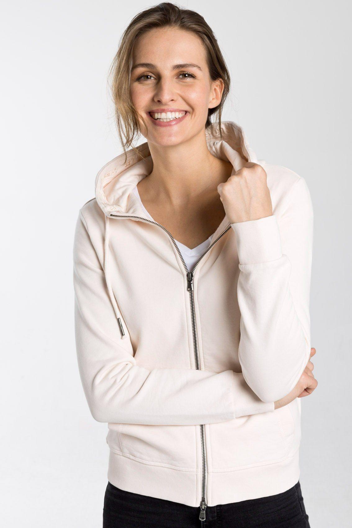 SHIRTS FOR LIFE Sweatjacke aus fair gehandelten Materialien | Bekleidung > Sweatshirts & -jacken > Sweatjacken | Braun | Baumwolle - Polyester | Shirts For Life