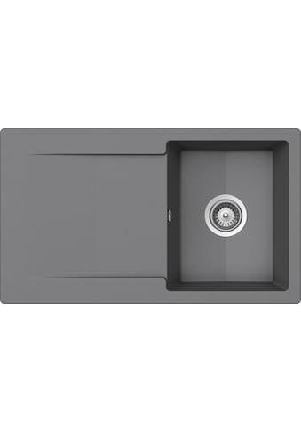 SCHOCK Granitspüle »Pisa«, ohne Restebecken, 86 x 50 cm kaufen