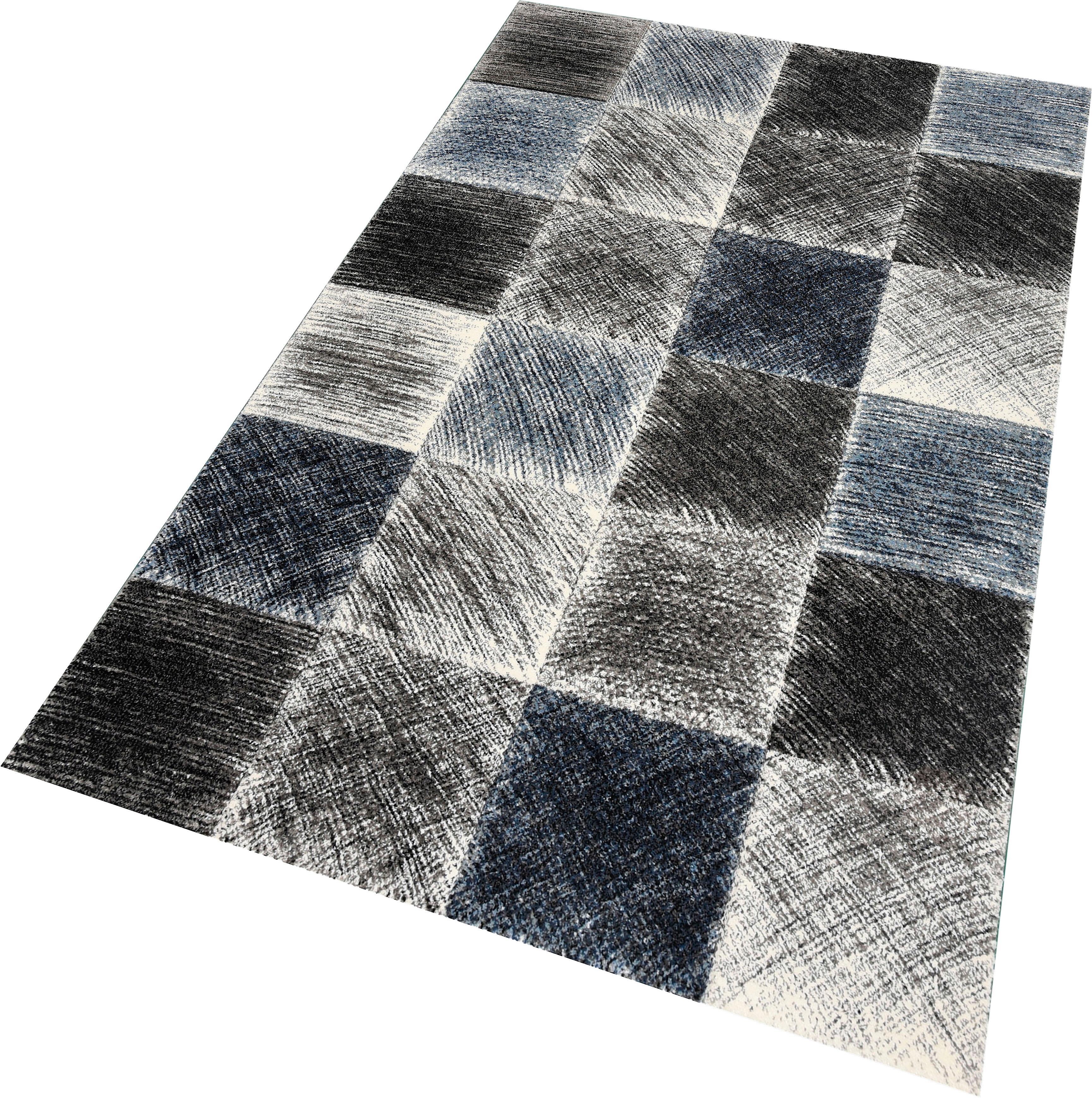 Teppich Indigo 22170 merinos rechteckig Höhe 13 mm maschinell gewebt