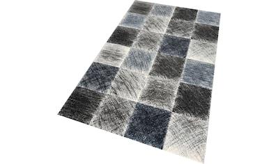 Teppich, »Indigo 22170«, merinos, rechteckig, Höhe 13 mm, maschinell gewebt kaufen