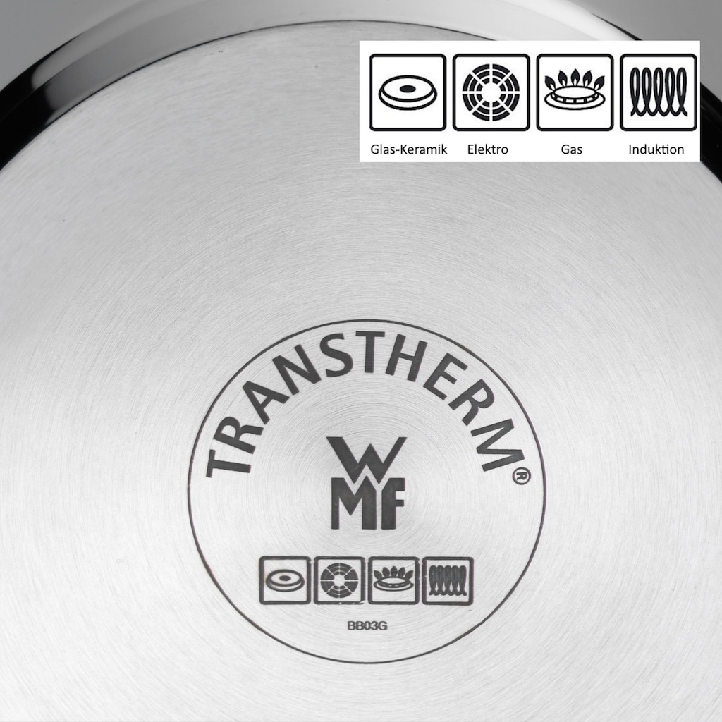 WMF Gemüsetopf, Cromargan® Edelstahl Rostfrei 18/10, (1 tlg.), Induktion