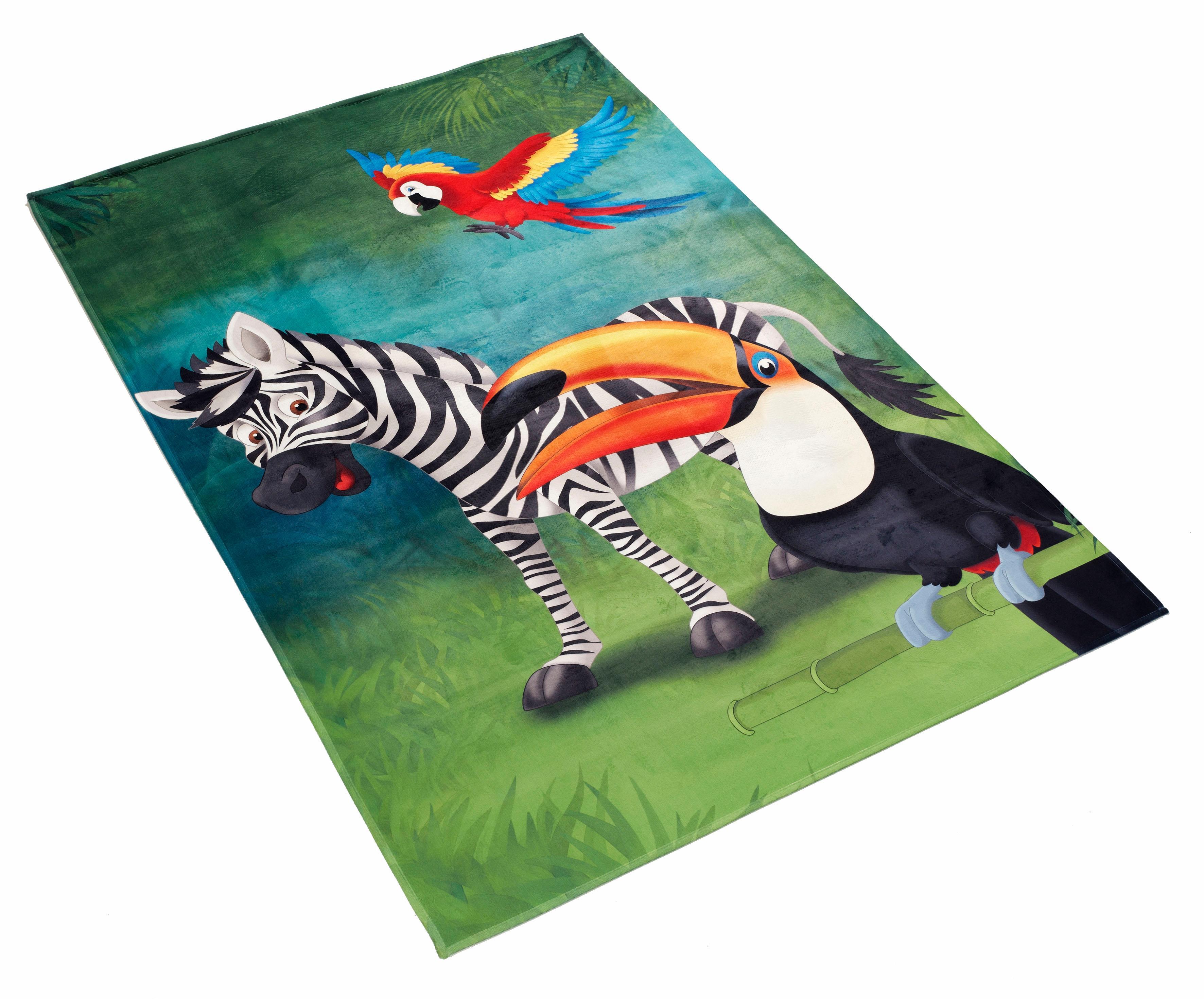 Kinderteppich Lovely Kids 402 Böing Carpet rechteckig Höhe 6 mm gedruckt