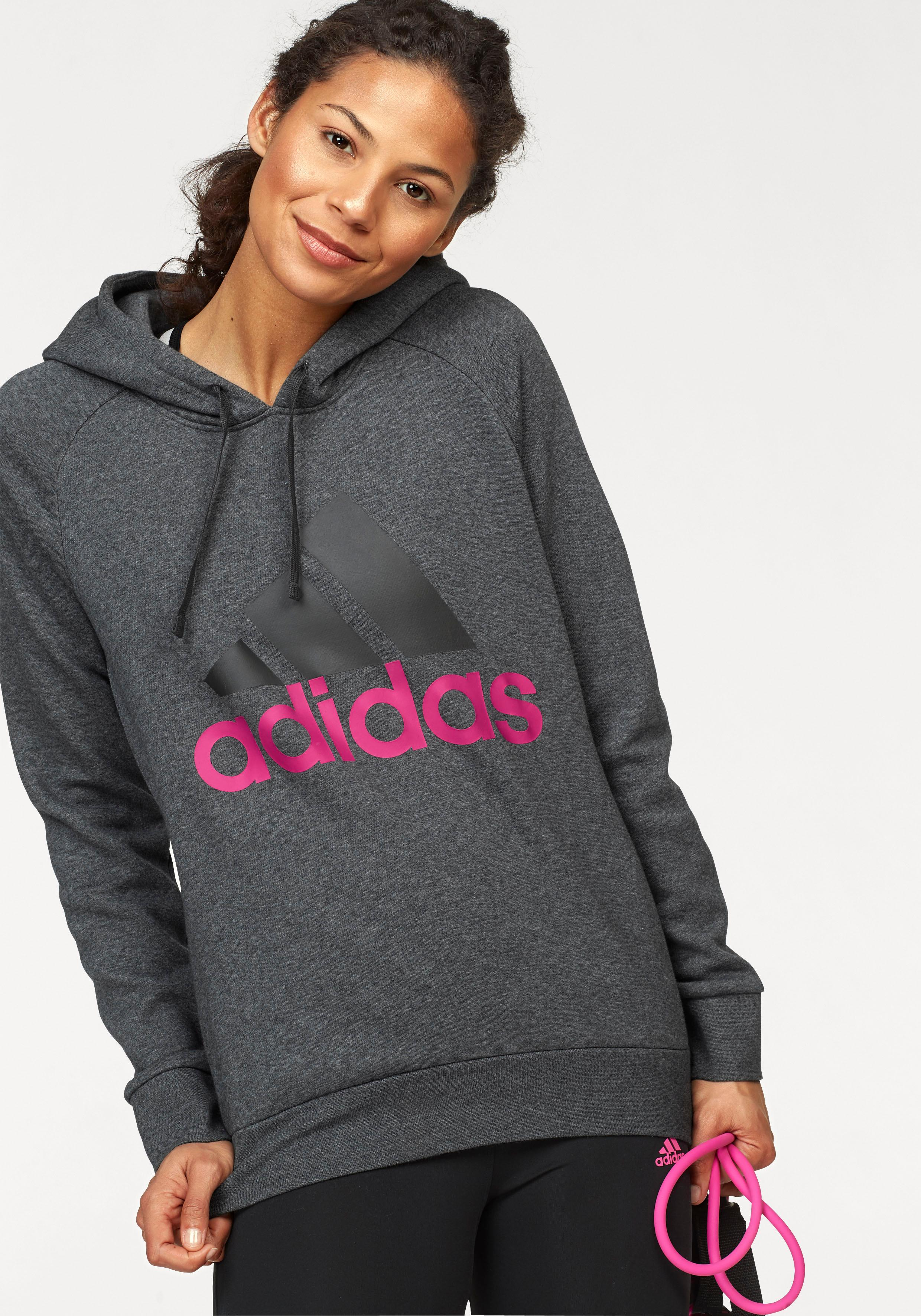69e026dd55e25 Bildquelle  adidas Performance Kapuzensweatshirt »ESSENTIAL LINEAR OH  FLEECE«
