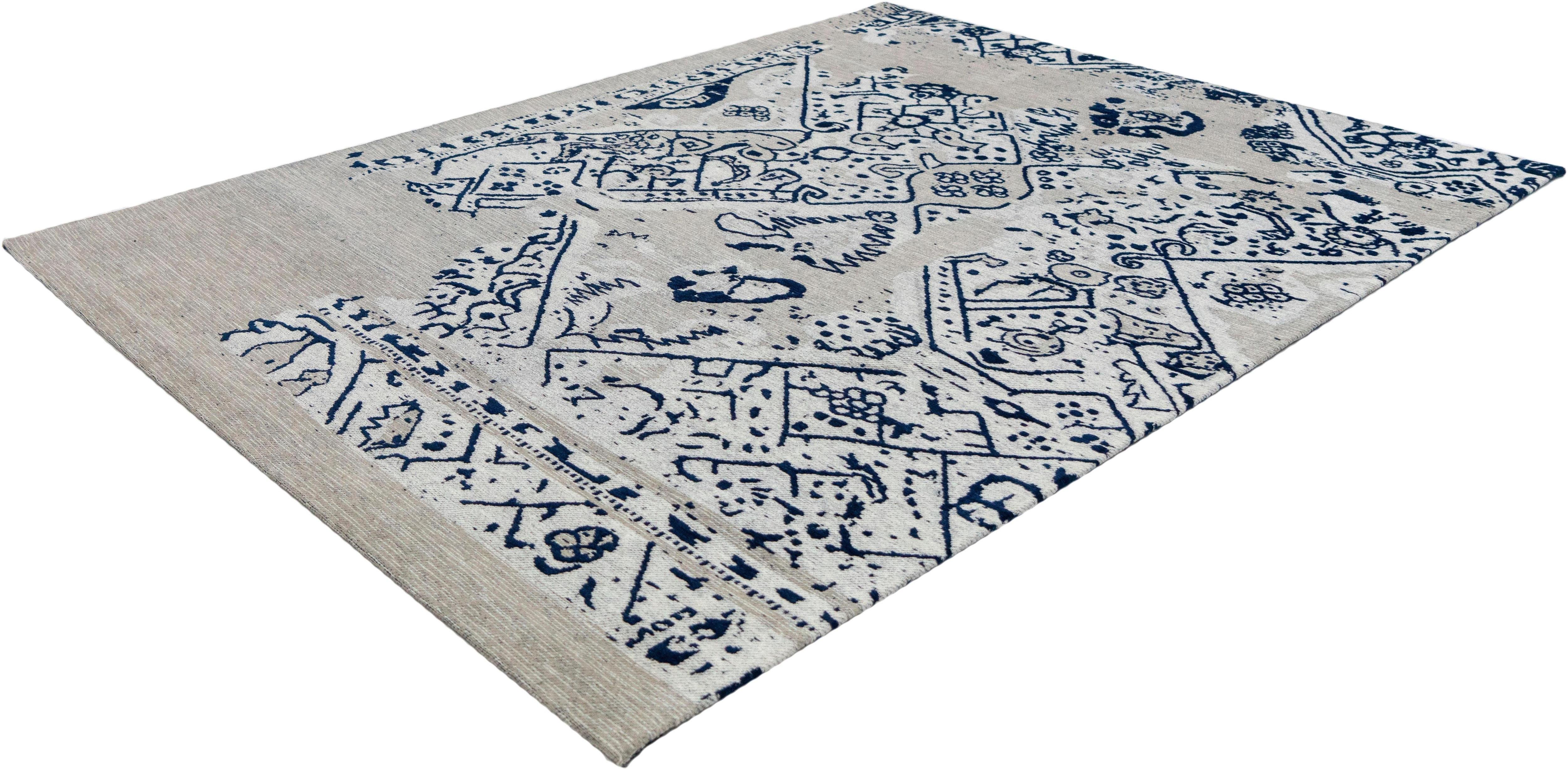 Teppich Paradiso 350 calo-deluxe rechteckig Höhe 10 mm handgewebt