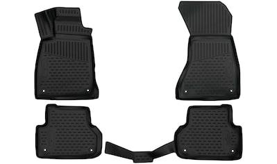 WALSER Passform-Fußmatten, (4 St.), für Hyundai TUSCON (2015-), Kia SPORTAGE (2016-) kaufen