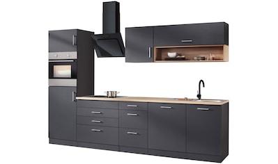 HELD MÖBEL Küchenzeile »Palermo«, mit E - Geräten, Breite 300 cm kaufen