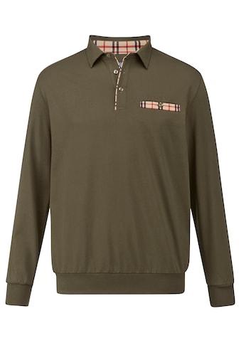 Babista Langarmshirt, mit kontrastfarbenen Details kaufen