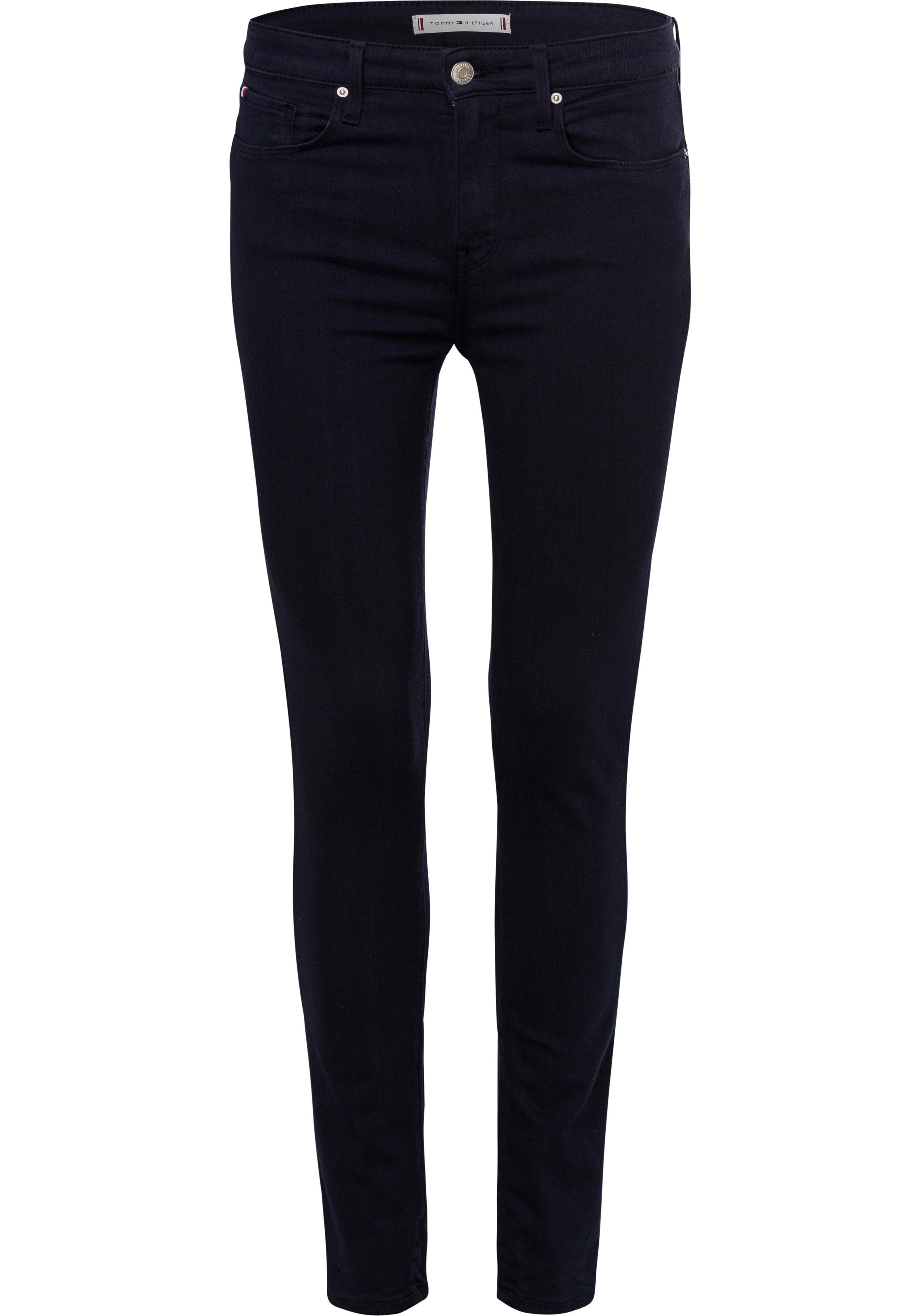 tommy hilfiger -  Skinny-fit-Jeans TH FLEX COMO SKINNY RW A CLR, in modischen Farben