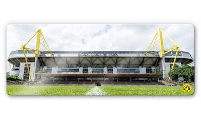Wall-Art Glasbild »BVB - Signal Iduna Park«, 80/30 cm kaufen