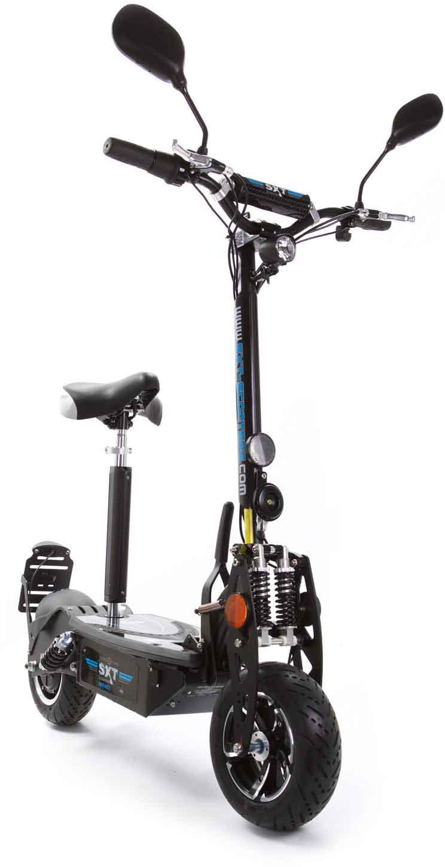 SXT Scooters E-Scooter 500 EEC - Facelift, 20 km/h, 25 km schwarz Elektroscooter Elektroroller Motorroller Mofas