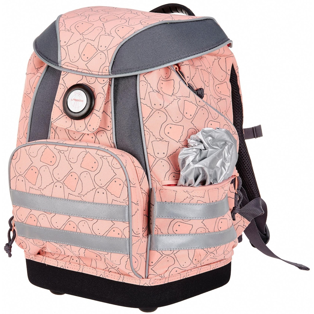 Lässig Schulrucksack »4Kids School Bag, Spooky Peach«, 3M™ Scotchlite™ Reflektoren-Reflektoren