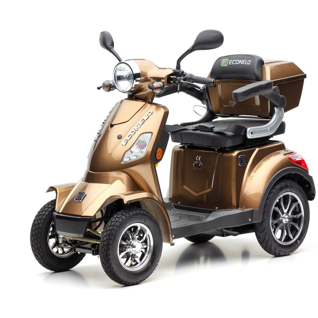 ECONELO Elektromobil »J4000«, 1000 W, 25 km/h, (mit Topcase)