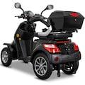 Rolektro Elektromobil »Rolektro E-Quad 25 V.3, Lithium«, 25 km/h, (mit Topcase)