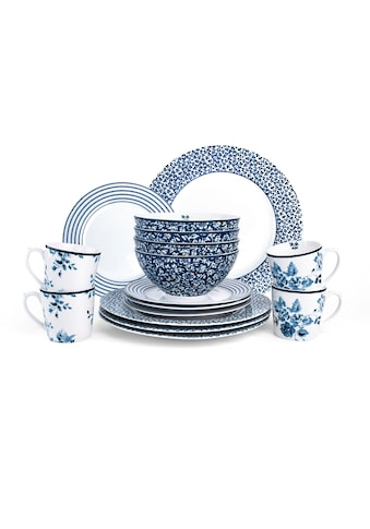 LAURA ASHLEY BLUEPRINT COLLECTABLES Kombiservice »Mix Designs China Rose, Sweet... kaufen
