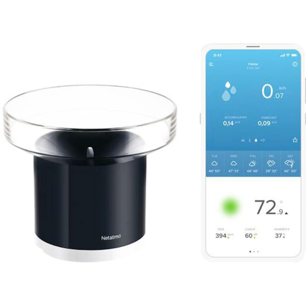 Netatmo Wassersensor »Smarter Regenmesser«