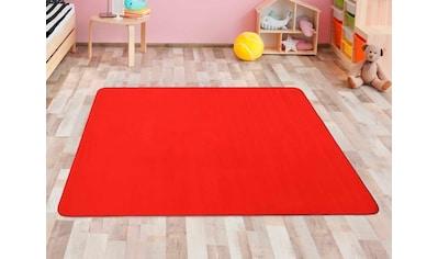 Primaflor-Ideen in Textil Kinderteppich »SITZKREIS«, rechteckig, 5 mm Höhe, Spielteppich kaufen