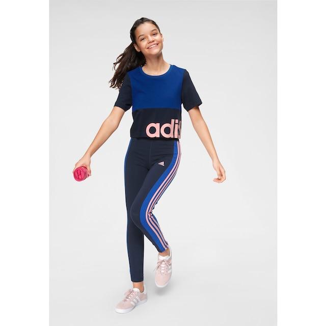 adidas Performance Leggings »YOUTH GIRL LINEAR 3 STRIPES TIGHT«