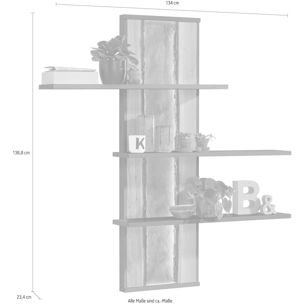 set one by Musterring Garderobenpaneel »TACOMA«, Typ 43, Höhe 134 cm
