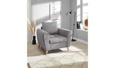 andas Sessel »Blackburn Luxus«, mit besonders hochwertiger Polsterung für bis zu 140... kaufen