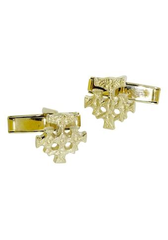 OSTSEE - SCHMUCK Manschettenknöpfe »Hiddensee Silber 925/000, vergoldet ohne Stein« kaufen