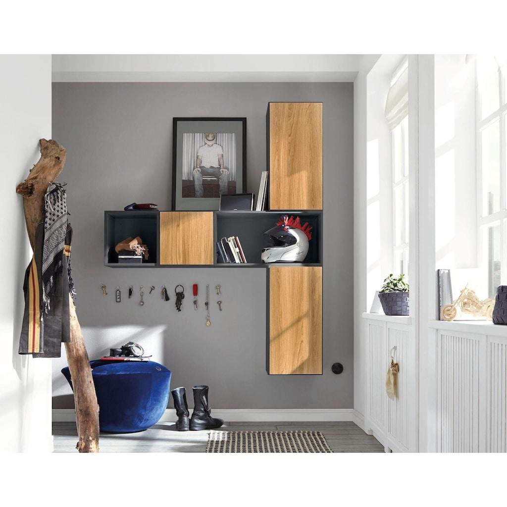 now! by hülsta Regalelement »now! to go«, große Box mit Tür, optimal auch als kleiner Sekretär im Home Office nutzbar