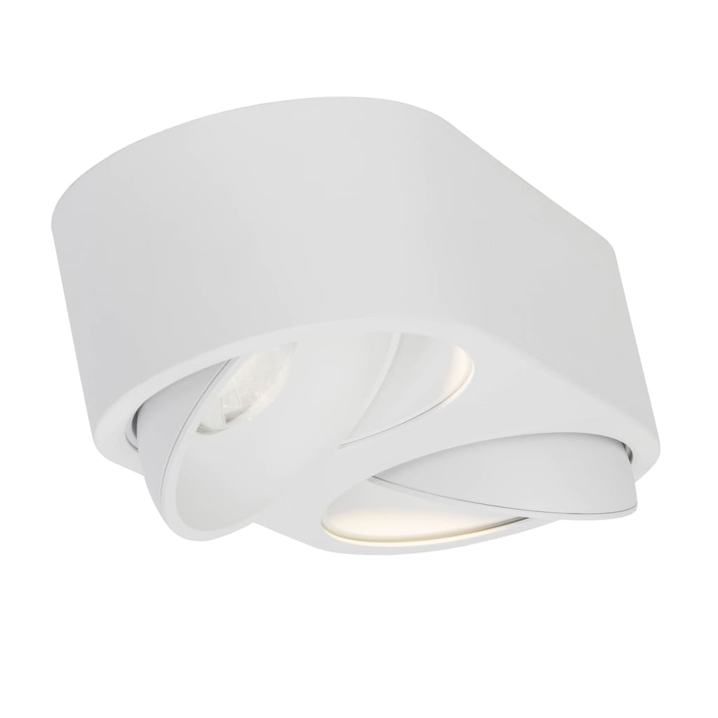 AEG Leca LED Wand- und Deckenleuchte 2flg weiß