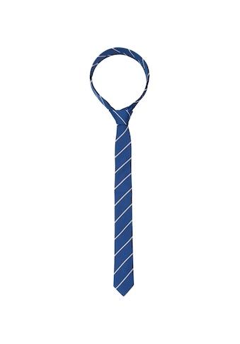 seidensticker Krawatte »Slim«, Schmal (5cm) Streifen kaufen
