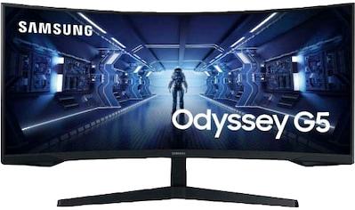 """Samsung Gaming-Monitor »C34G55T«, 86 cm/34 """", 3440 x 1440 px, UWQHD, 1 ms Reaktionszeit, 165 Hz kaufen"""