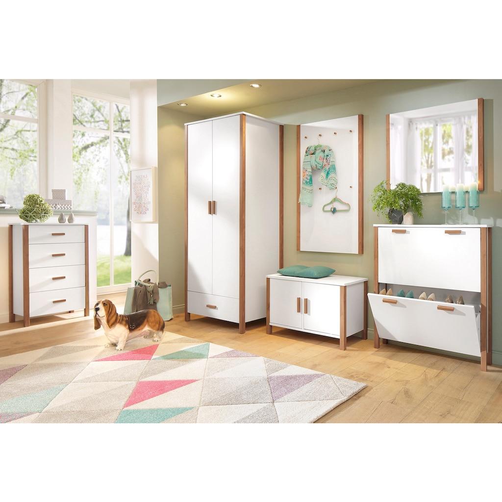 Home affaire Garderobenschrank »Chic«, mit einer Kleiderstange, vielen Stauraummöglichkeiten, Höhe 180 cm